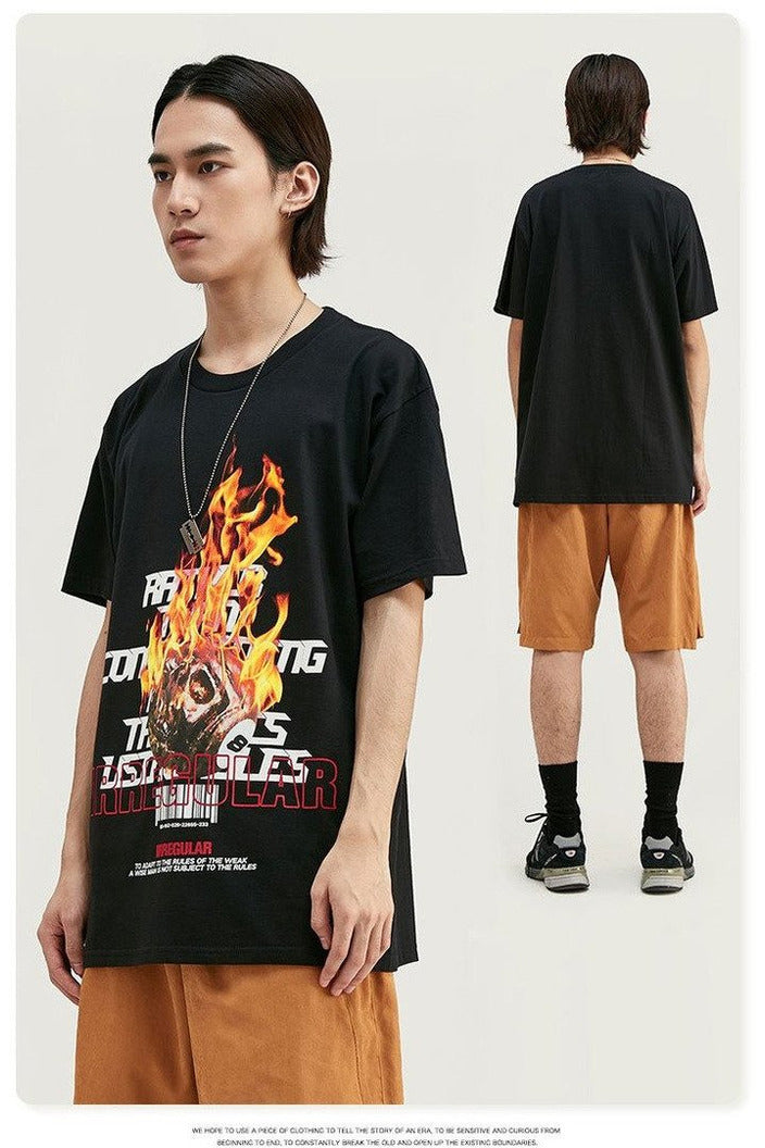 T shirt Harajuku Cotton Men t shirt camiseta - SKYCLUB