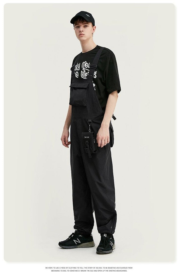 Overalls Broadcloth Loose Fit Casual Polyester - SKYCLUB