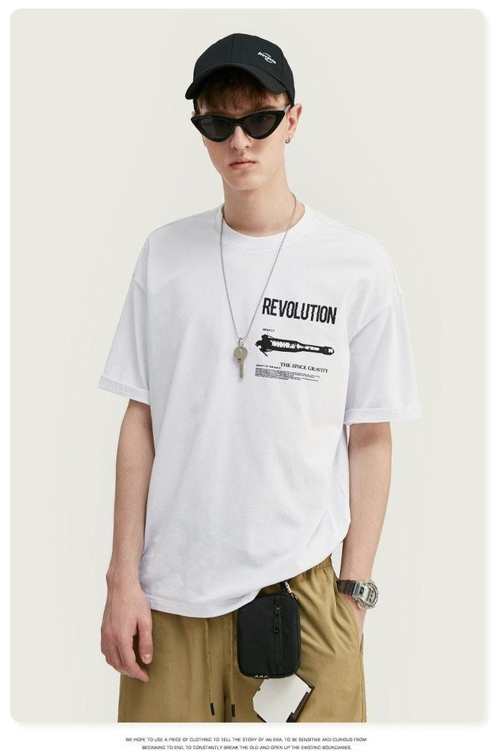 Earth Revolution Print Short Sleeve Tee