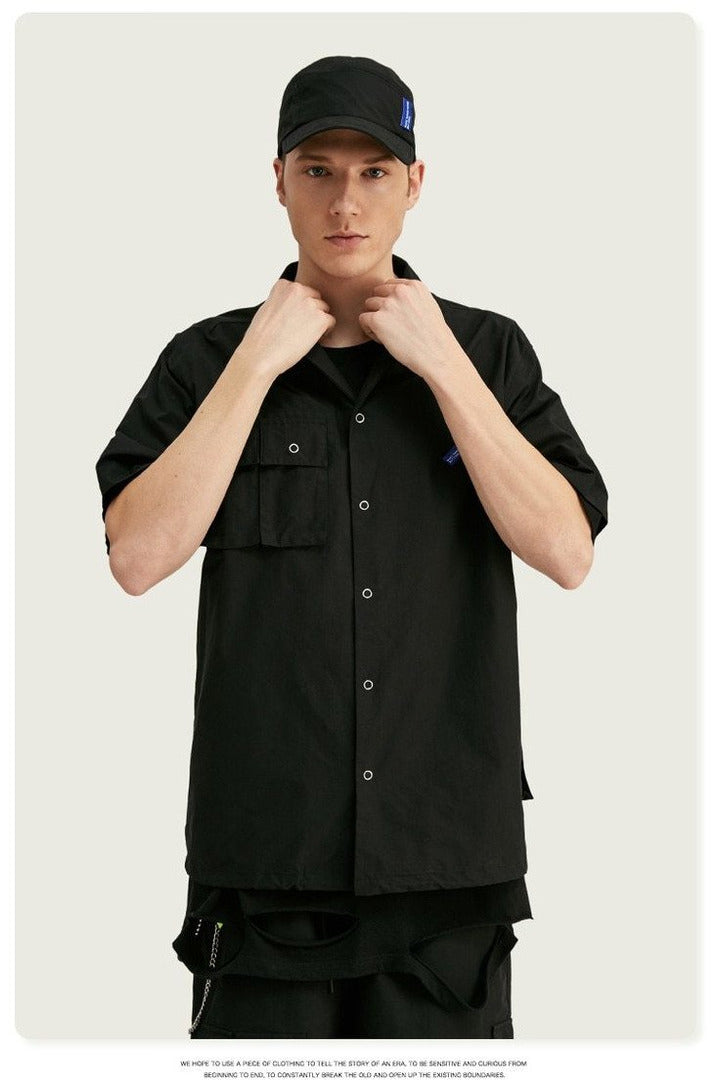 Summer Tracksuit Polyester Short Sleeve Men - SKYCLUB