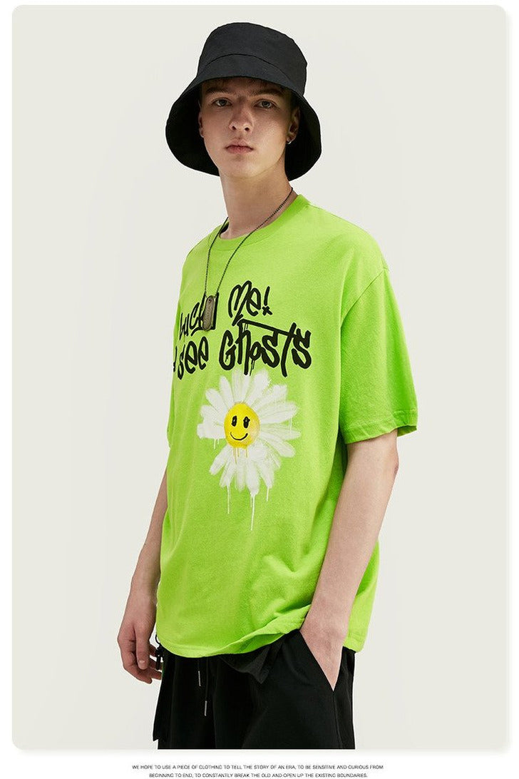 NEW Harajuku Men's T-shirt Cotton Fashion - SKYCLUB