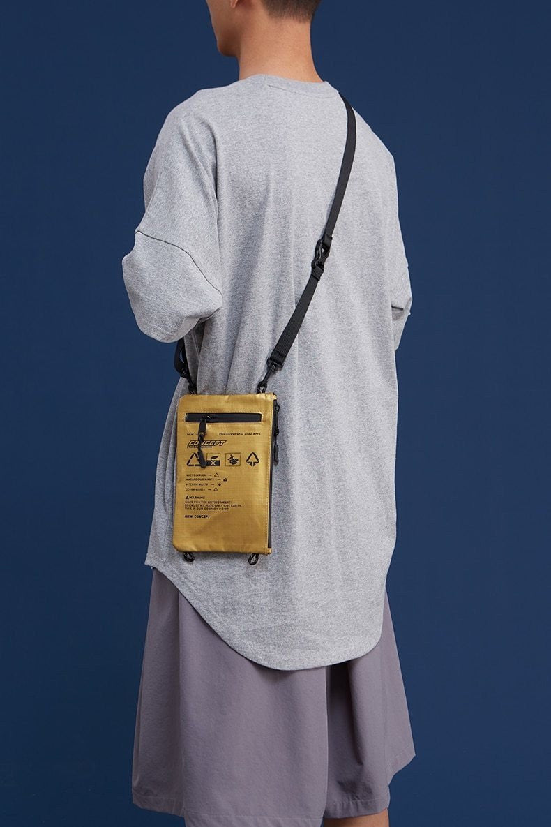 Unisex Mini Soft Crossbody Messenger Bag - SKYCLUB