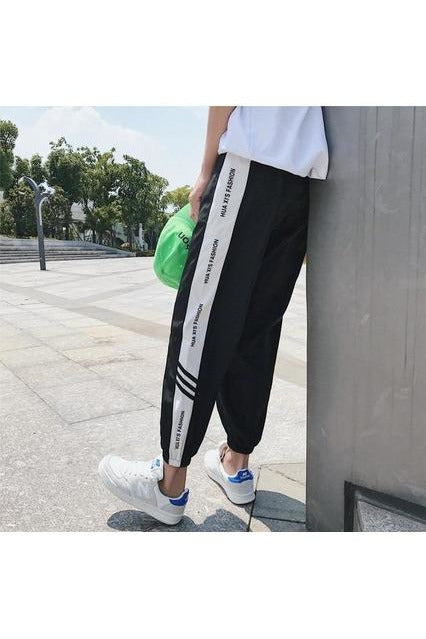 Side Stripe Jogger Track Pants