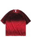 Men Red Tie Dyed T-shirt - SKYCLUB
