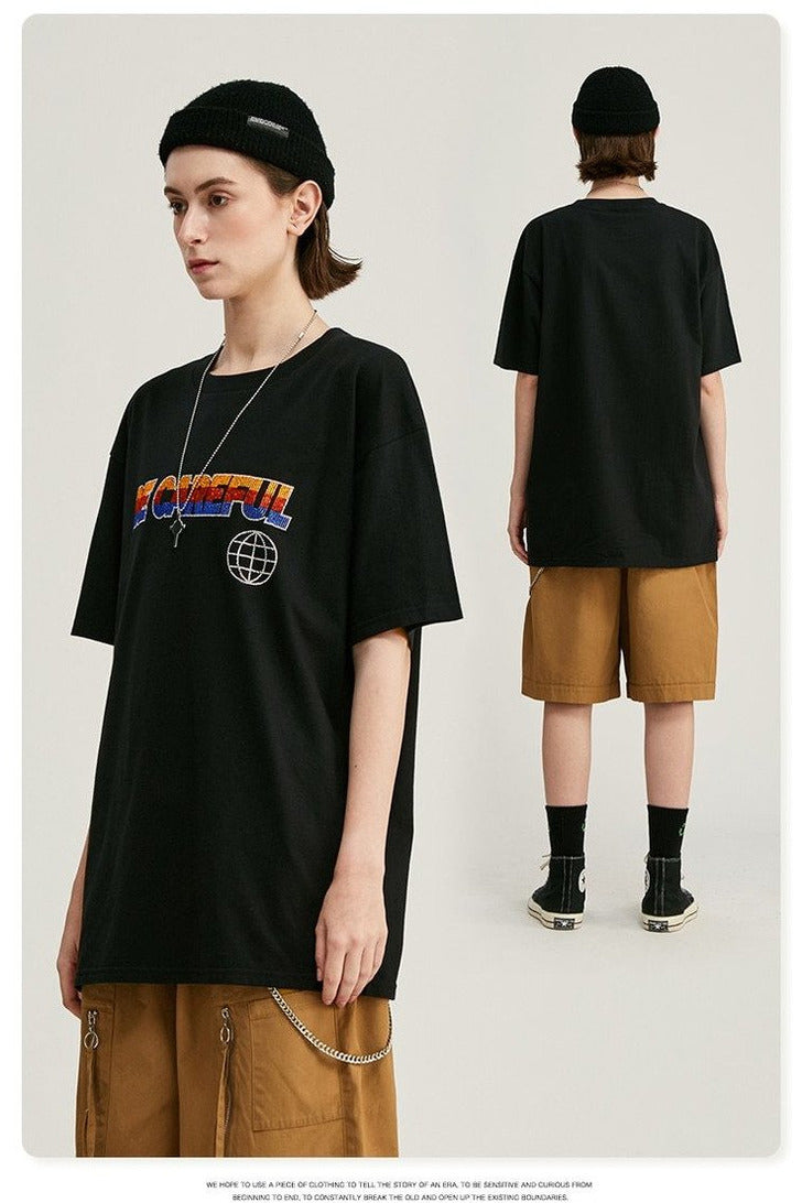 Other Planet Oversized Short Sleeves Tee - SKYCLUB