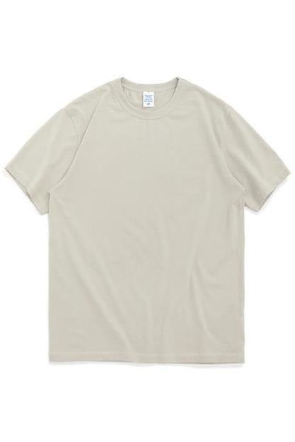 Summer Solid Men Casual T-shirt O-Neck - SKYCLUB