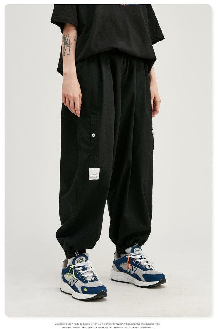 Men Wide-Leg Jogger Pants - SKYCLUB