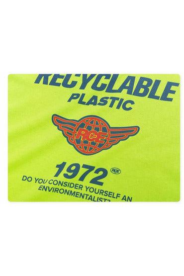 Recyclable Plastic Environmental Print Tee Shirt