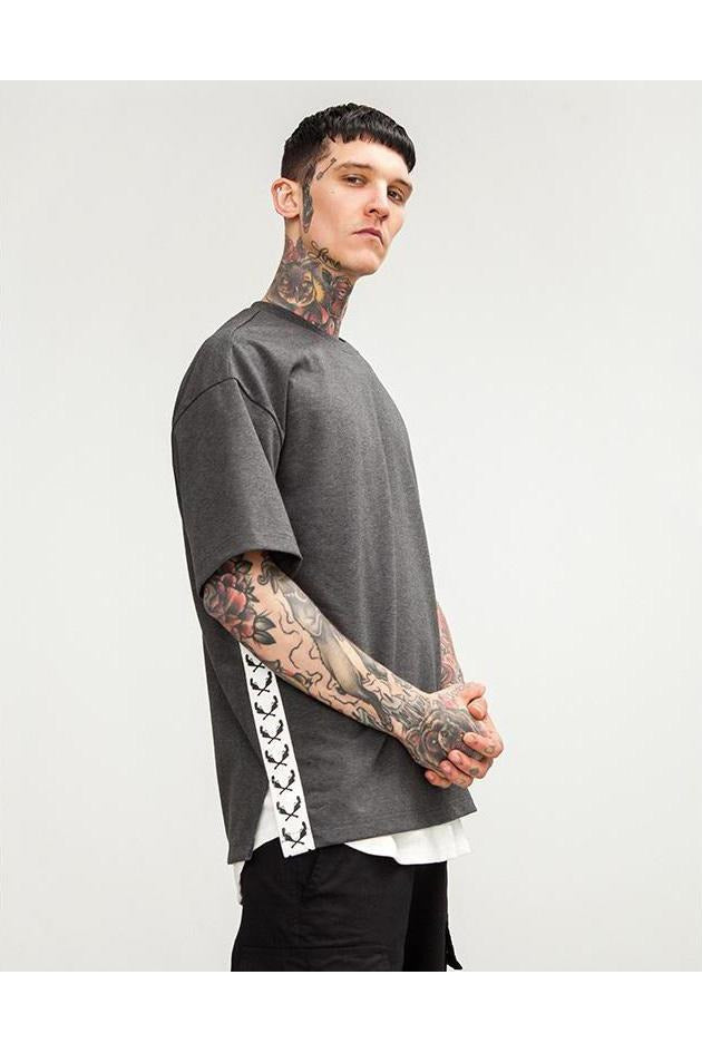 SK-T-FS-HT452 OVERSIZE SOLID T-SHIRT - SKYCLUB