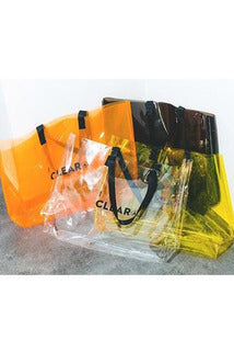 SK-C-FS-H343 TRANSPARENT PVC BAG - SKYCLUB