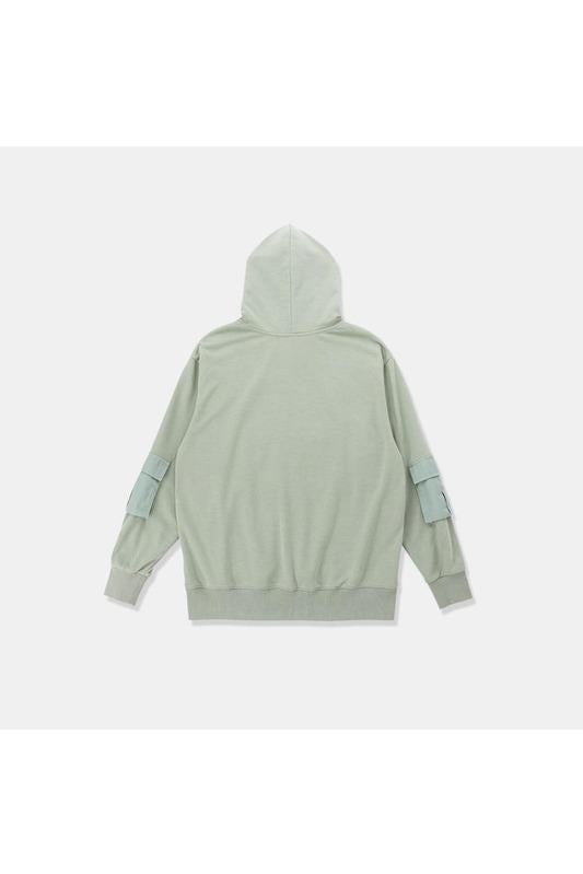 SK-T-SW-T034 FRONT PACKET HOODED SWEATSHIRT - SKYCLUB