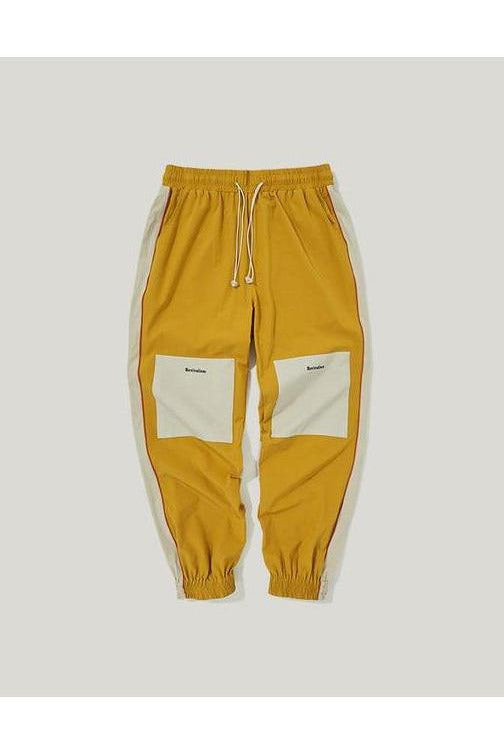 Elastic Drawstring Loose Fit Track Pants - SKYCLUB