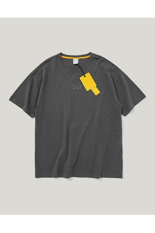 Environmental Protection Casual Cotton Tee - SKYCLUB