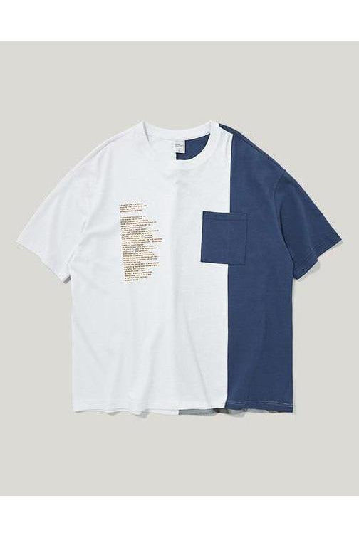 Astronaut Color Block Short Sleeve Tee - SKYCLUB