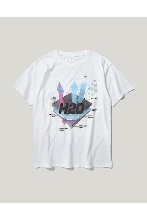 H20 Cotton Printed Tee - SKYCLUB