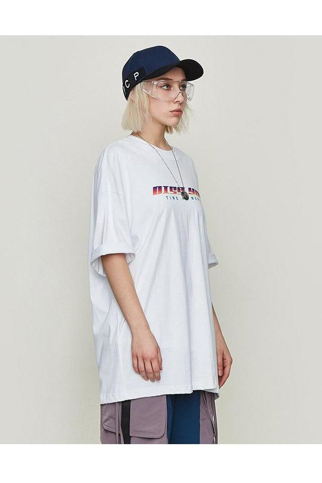 Diss You O-Neck Loose Fit O-Neck Tee - SKYCLUB