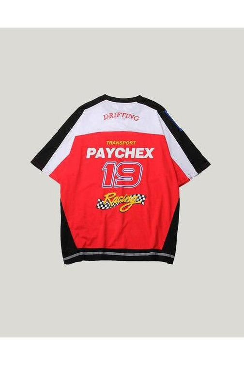 Paychex Letter Race Print Tee - SKYCLUB
