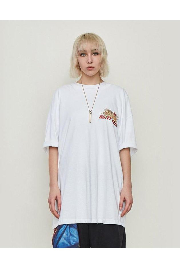 Cultivate Oversized Short Sleeve Tee - SKYCLUB