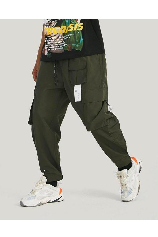 Cargo Loose Trousers With Multiple Pocket Pants - SKYCLUB