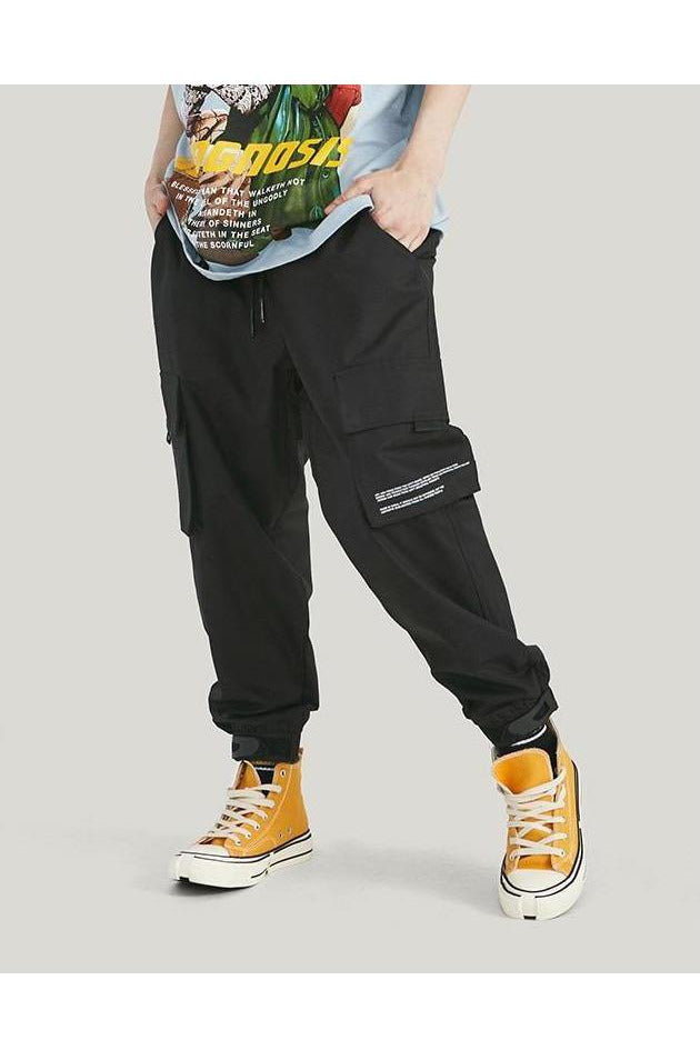Loose Side Pockets Cargo Pants - SKYCLUB
