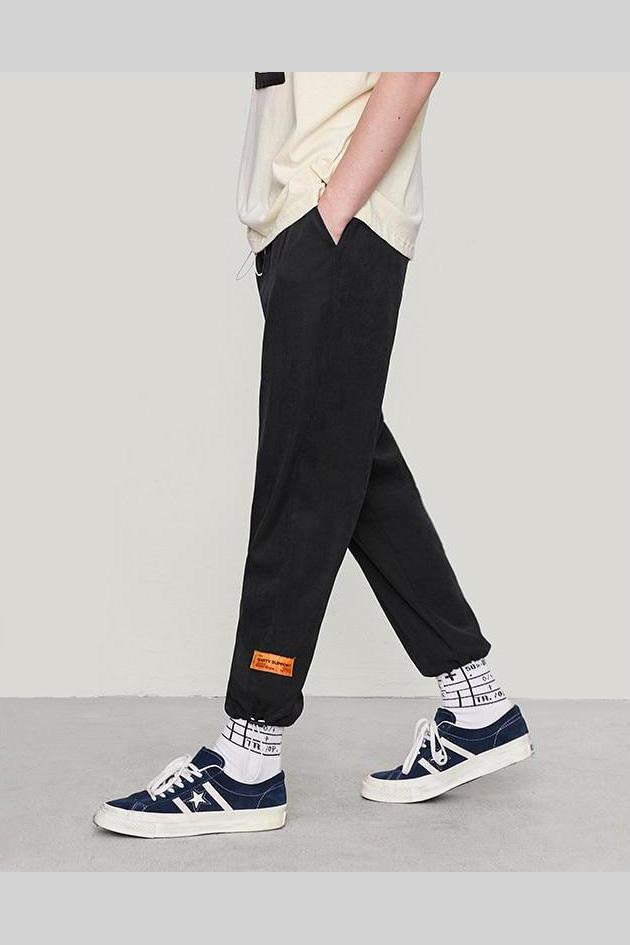 Loose Windbreaker Casual Trouser Pants - SKYCLUB