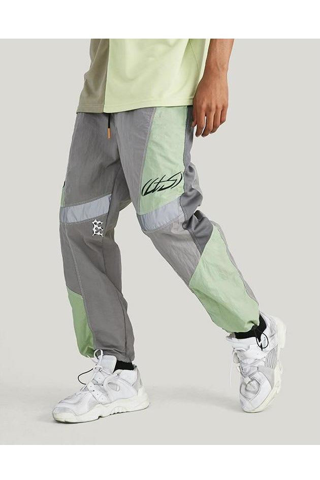 Cargo Color Stitching Trousers Pants - SKYCLUB