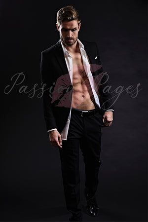 PREMIUM COLLECTION - Romance Novel Stock Photography - Caleb #4