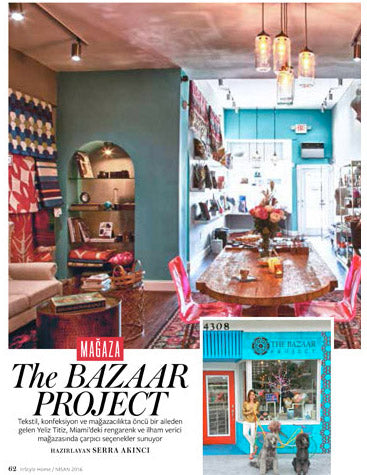 The Bazaar Project Press - In Style Magazine - Turkey