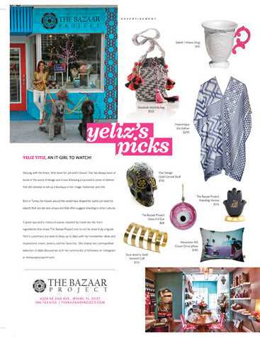 The Bazaar Project Press - SOBE Shopping Guide