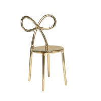 RIBBON CHAIRS METAL FINISH (SET OF TWO)