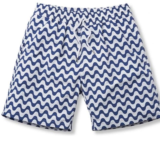 FRESCOBOL TRUNKS SPORT SHORT COPACABANA - NAVY BLUE