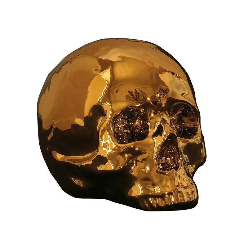 """LIMITED GOLD EDITION"" PORCELAIN MY SKULL"