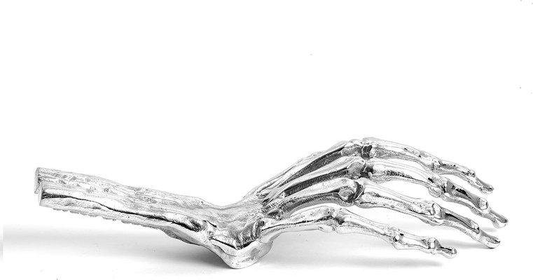 "HAND IN ALUMINIUM ""DIESEL-SKELETON HAND IN GLOVE"""