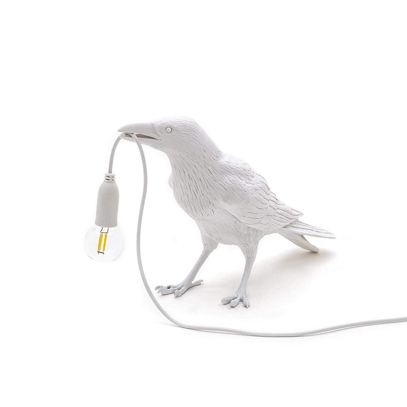 SELETTI BIRD LAMP - RESIN