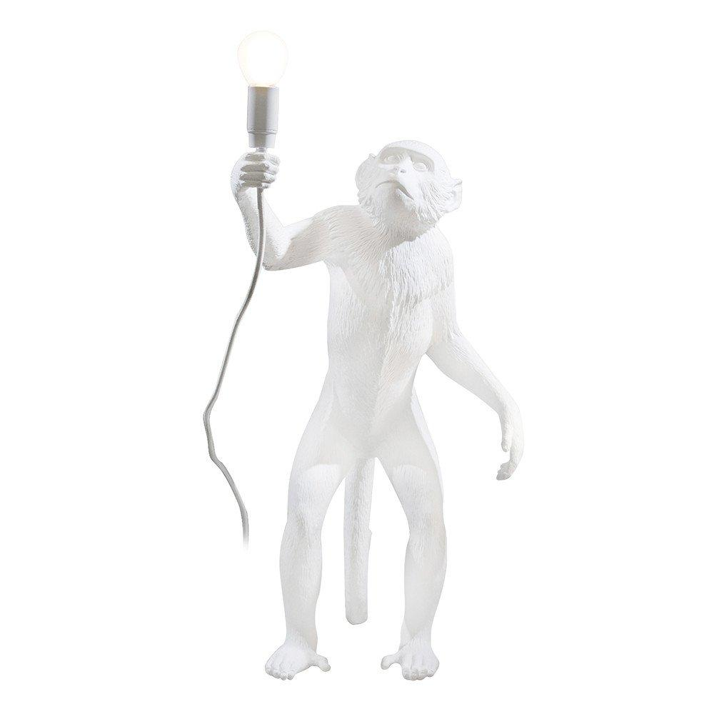 "RESIN LAMP ""MONKEY LAMP"" STANDING"