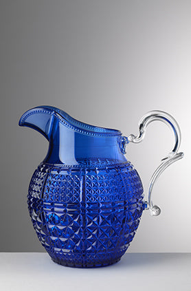 HALINA PITCHER BLUE