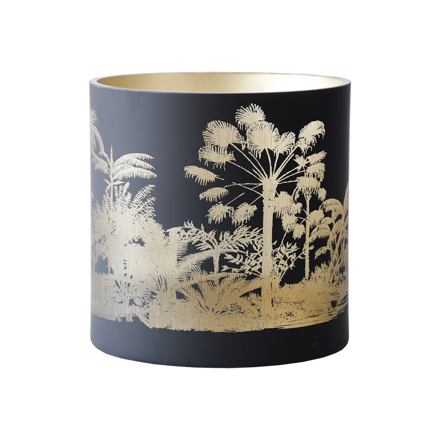 CYLINDER JUNGLE GLASS - SMALL