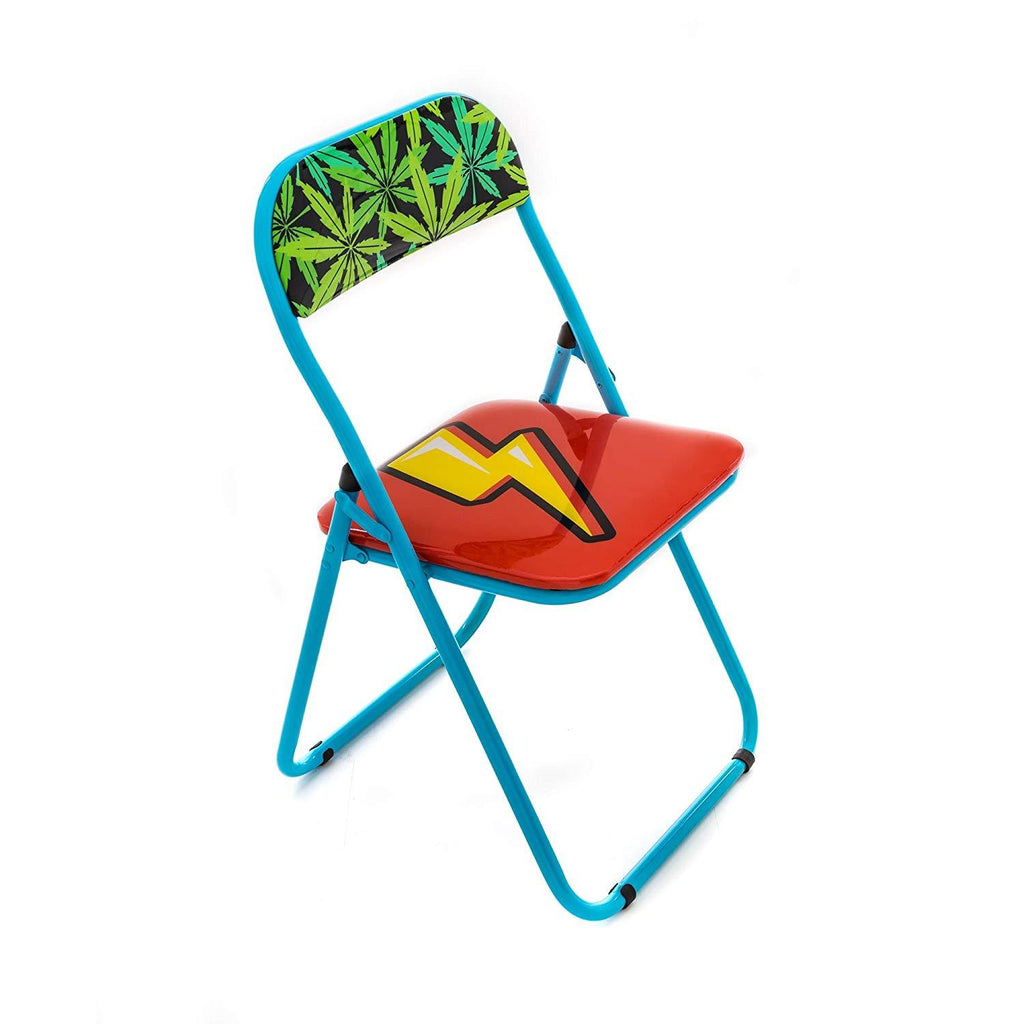 "FLASH ""STUDIO JOB-BLOW"" METAL FOLDING CHAIR"