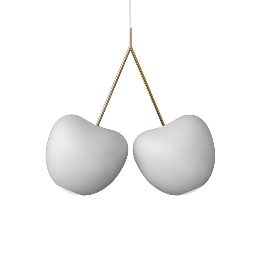 Qeeboo Cherry Lamp - Ivory