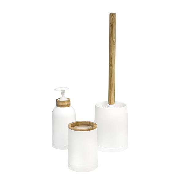 Balvi Zen Bathroom Set - White