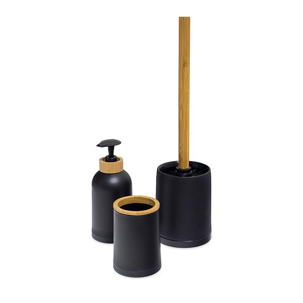 Balvi Zen Bathroom Set - Black