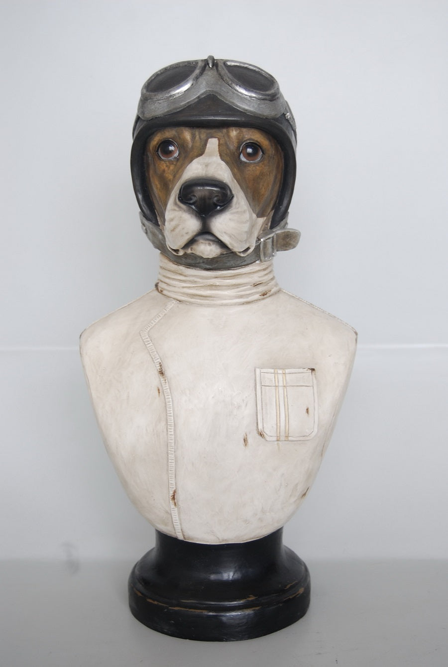 AVIATOR RESIN DOG
