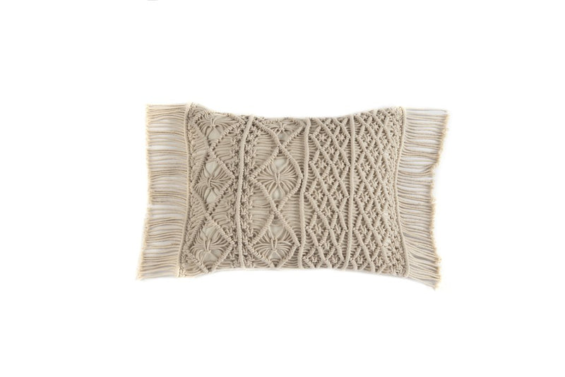 MIRABELLE SMALL RECTANGLE PILLOW, IVORY