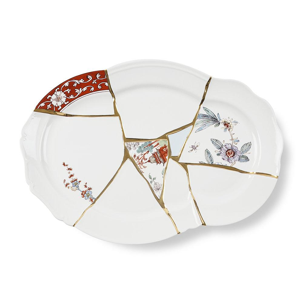 """KINTSUGI"" TRAY IN PORCELAIN"