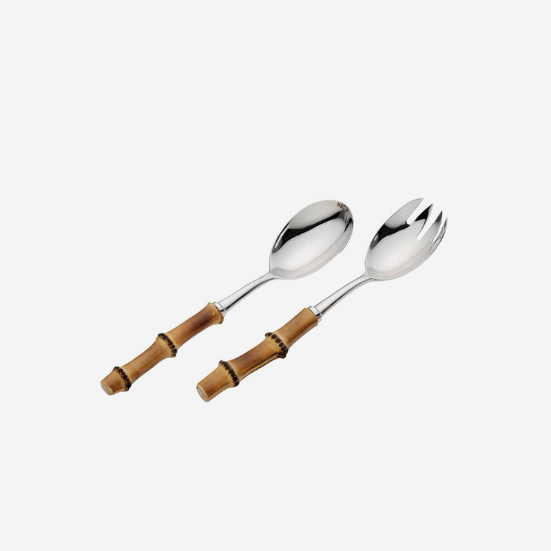 BAMBOO SALAD SERVING SET