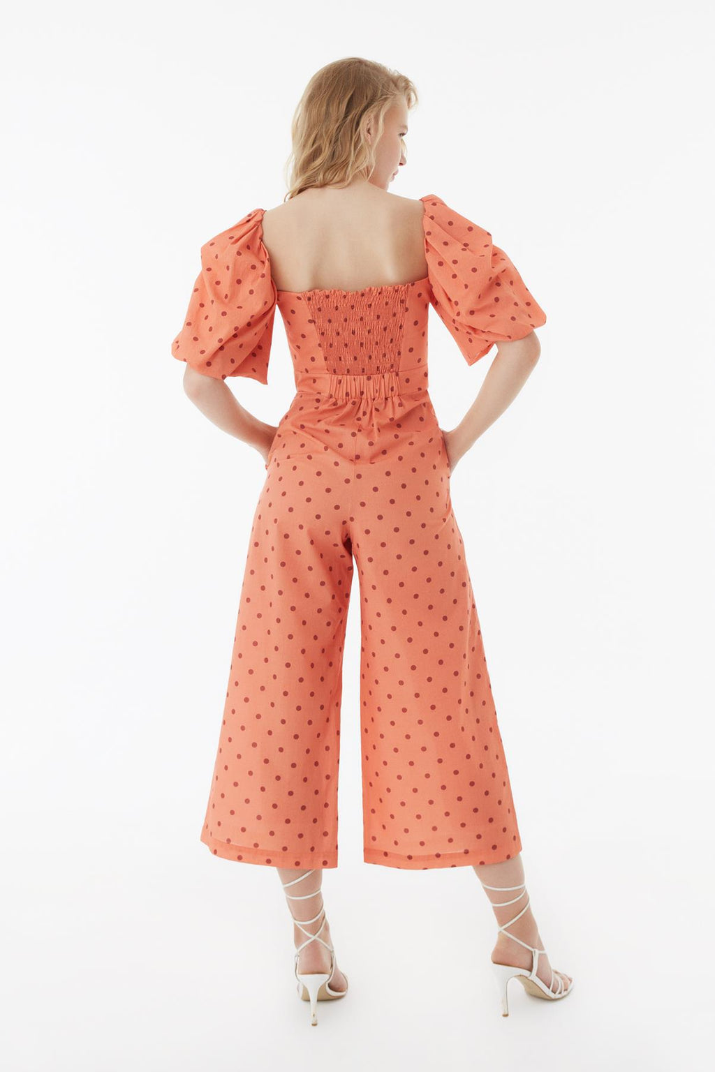 EXQUISE BALLOON SLEEVE JUMPSUIT
