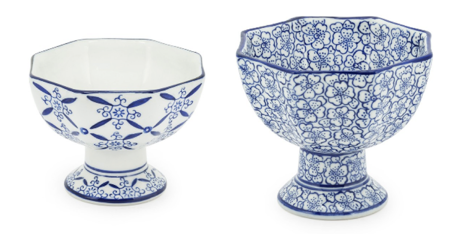BOWL CHINOISERIE SET
