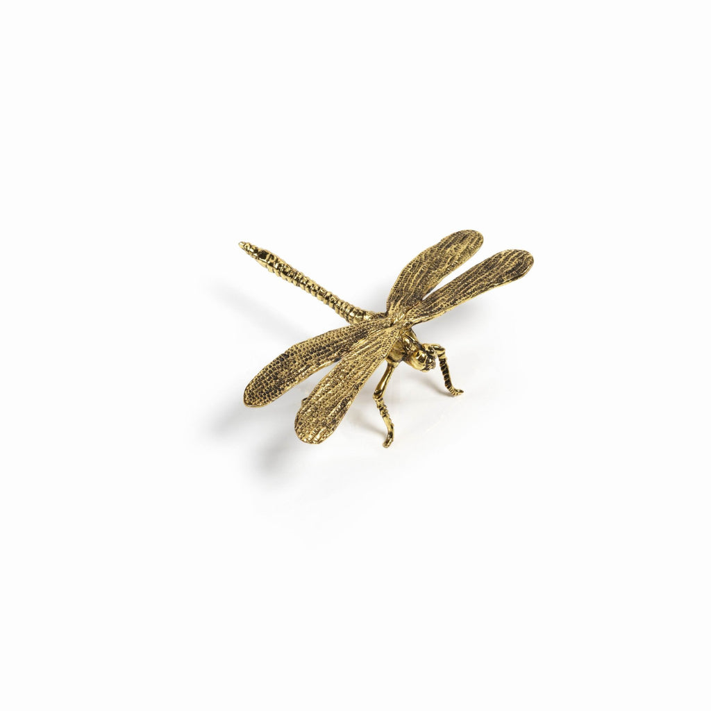 DECORATIVE GOLD DRAGONFLY