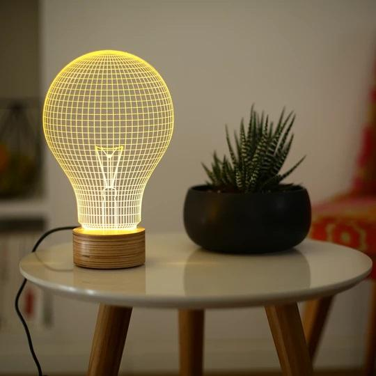 YELLOW BULB LIGHT