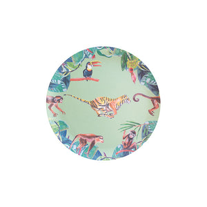GREEN BAMBOO TIGER PLATES